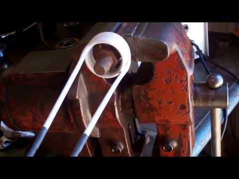 El Tipi Mini indüksiyon Makinası - Sıkışmış civata ve somun sökme
