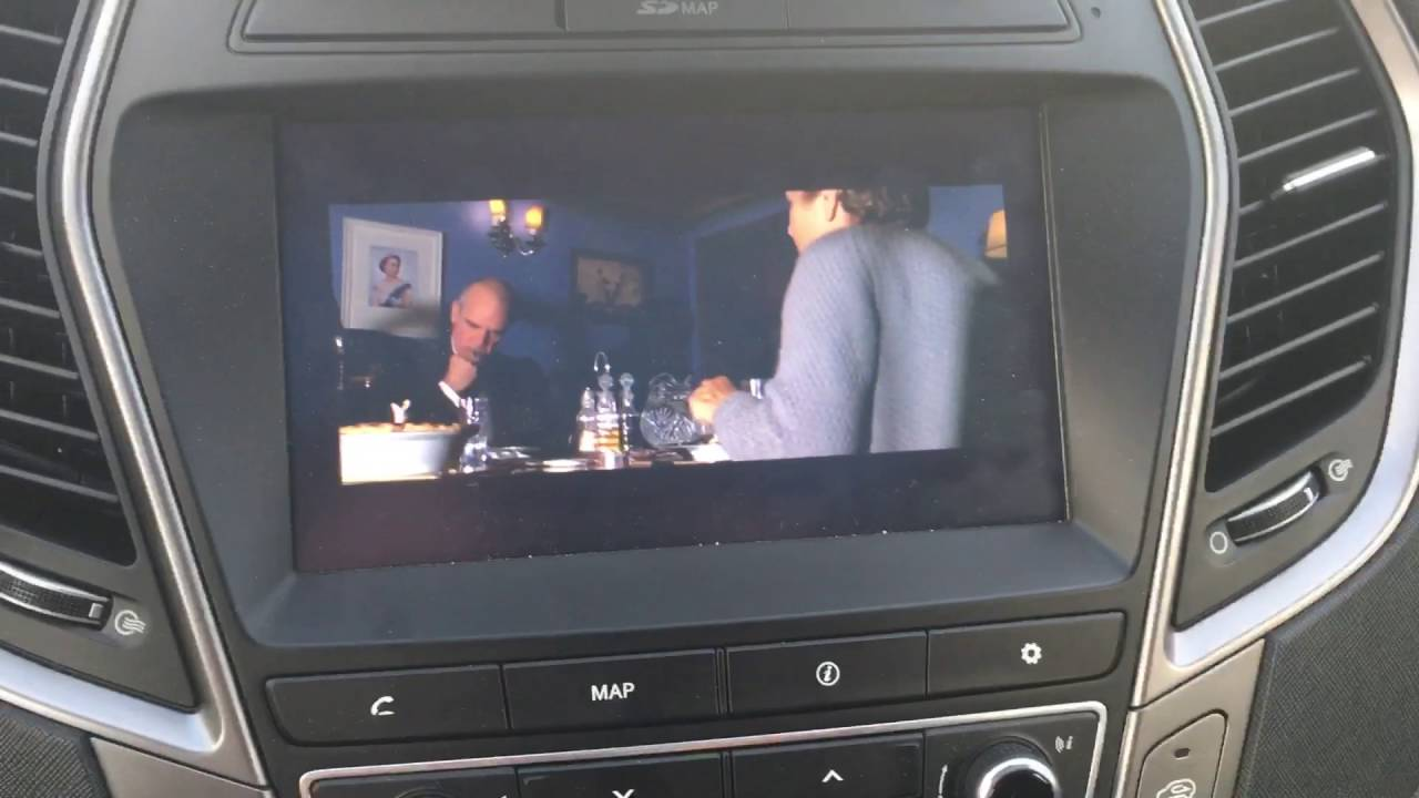 hyundai santa fe movie player mod youtube