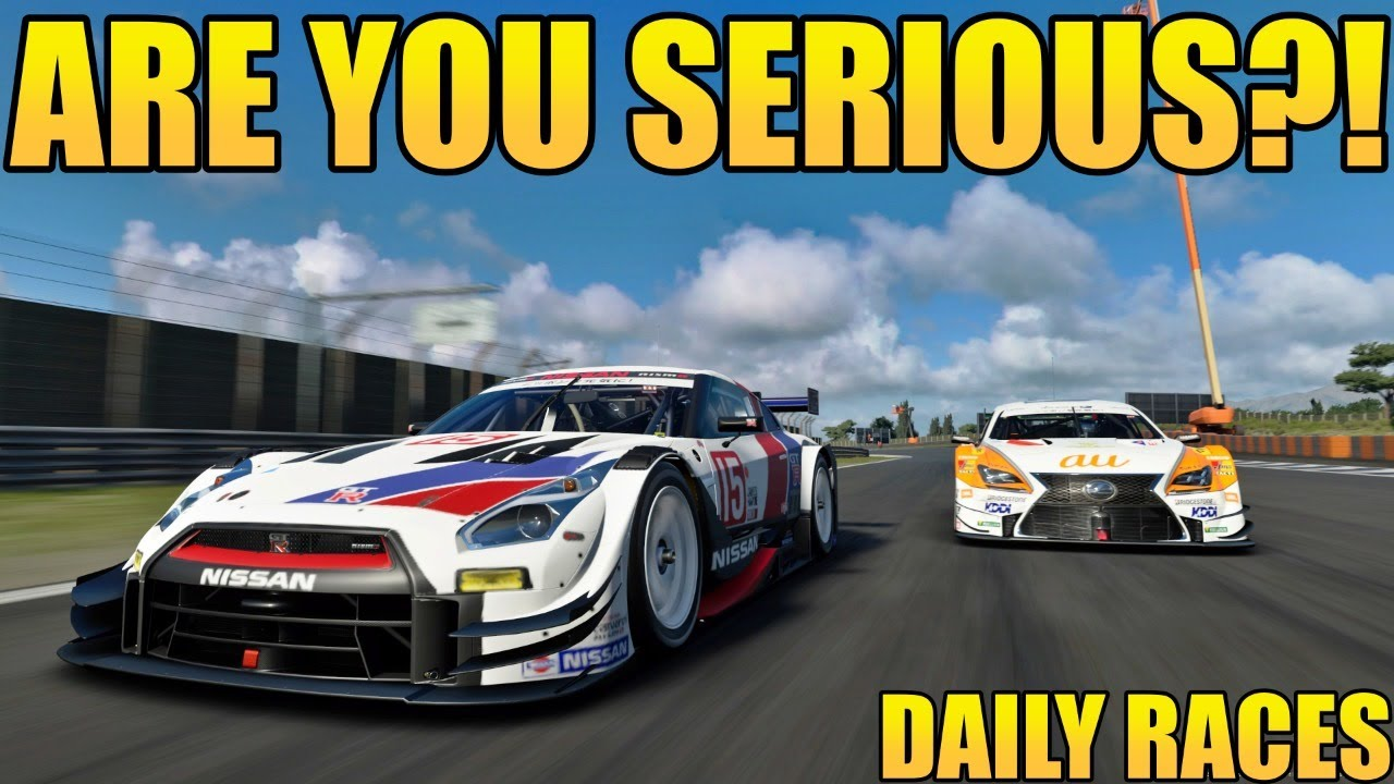 GT Sport Daily Races: Oh Look! It's Dragon Trail.... AGAIN!