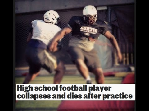 HS Football Player Dies On Football Field Miles Kirkland Heatstroke Death