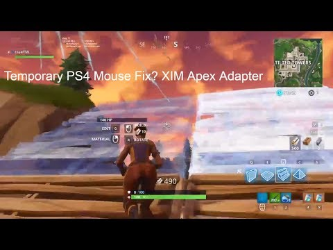Mouse Not Working Fix ? PS4 Fortnite