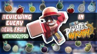 Showcasing Every Devil Fruit w/ Noclypso | One Piece Pirate's Wrath Roblox