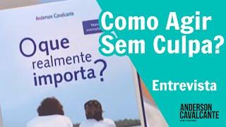 Anderson Cavalcante fala sobre Como agir sem culpa? no Manhã Gazeta com a Claudete Troiano