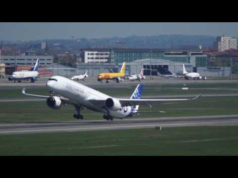 Airbus A350-1000 XWB - VMU tests