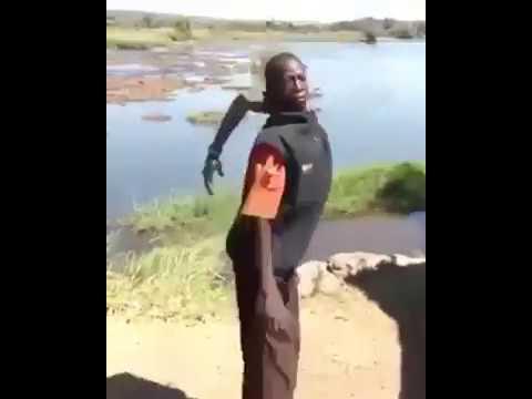 인싸 흑형 간디, African Yoga master
