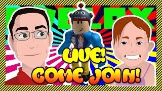 ROBLOX Livestream | G-Tochter Spielt Spiele, während G-Papa liest Ihre Chats!