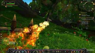 World of Warcraft: Cataclysm Gameplay - Rocketboot Hunting
