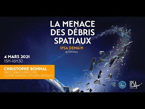 La menace des débris spatiaux | Christophe Bonnal | Conférence