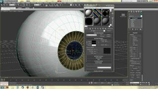 Repeat youtube video How to Model, Texture and Rig an Eye in 3DS Max