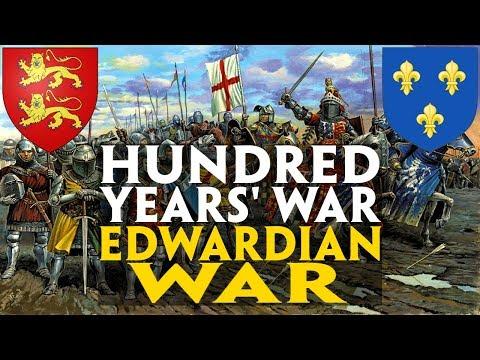 Hundred Years' War - Edwardian War (Crecy & Poitiers) Documentary
