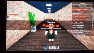 Roblox Xbox One Murder Mystery on Wednesday #14