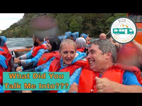 Whirlpool Jet Boat Tour // Niagara Falls, Ontario