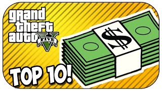 Top 10 MONEY MAKING METHODS in GTA 5 ONLINE 2017/2018!
