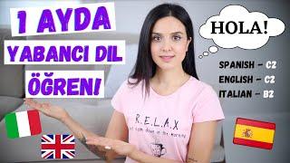 1 AYDA YABANCI DİL ÖĞREN İspanyolca Öğrenmeye Başlamadan Bilmeniz Gerekenler