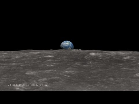 NASA's LRO Earthrise 45th Anniversary Hangout