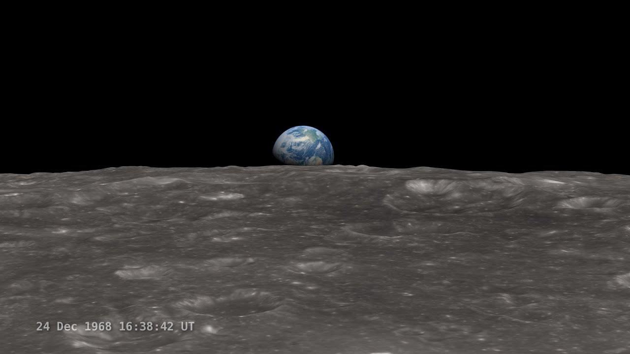 NASA's LRO Earthrise 45th Anniversary Hangout - YouTube