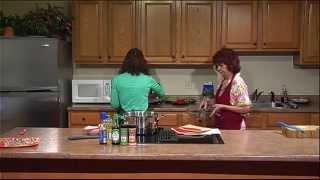 Coastline Healthy Cooking: Oriental Spaghetti Salad And Decadent Strawberry Nachos