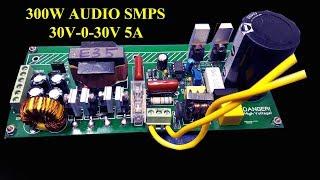30V 0 30V 5A AUDIO SMPS 300W SHARE ALL