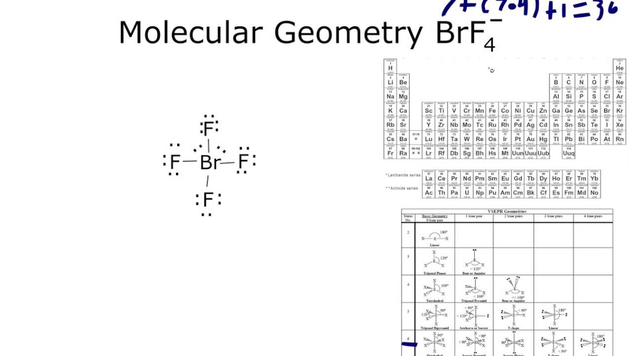 Brf4- Molecular Geometry
