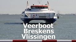 Aan bord van de veerboot Breskens-Vlissingen