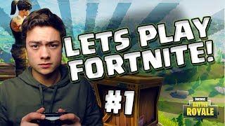 MIJN FORTNITE AVONTUUR BEGINT! - Let's Play Fortnite #1