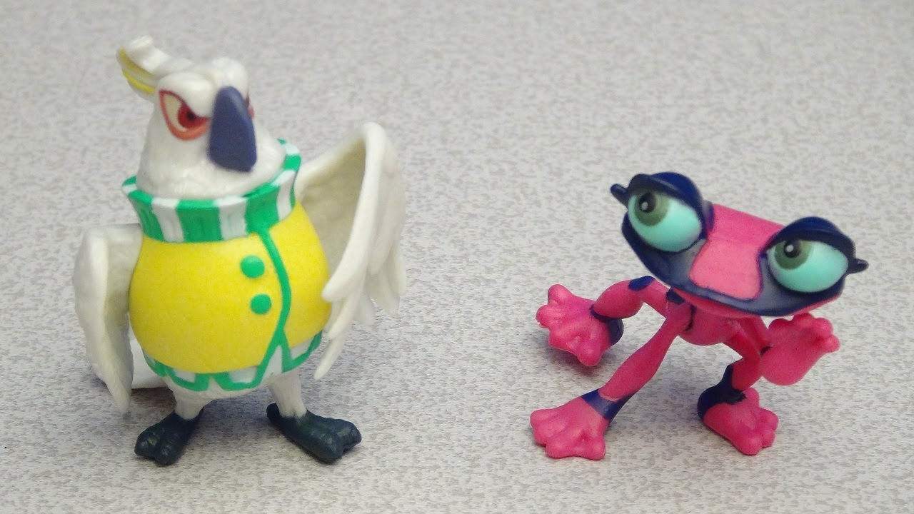 rio 2 nigel and gabi figurine playset video toy review
