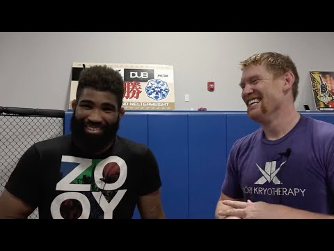 Go Behind the s With CES MMA's Welterweight Champion Chris Curtis