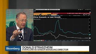 Straszheim Says China Credit Rise Not Worrisome