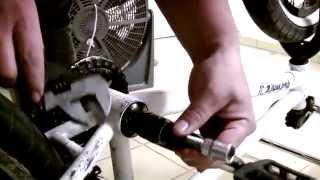 Tutorial BMX: Remover los Cranks,Bielas o Palancas con Oxido de tu Bicicleta - Mantenimiento