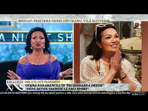 """Ozana Barabancea, adepta detoxifierii prin clismă: """"După detoxifiere trebuie să faci sport"""""""