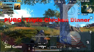 Triple chicken dinner | Top 10 tips for  PUBG mobile | 10 tip bermain PUBG  | PUBG | Malaysia PUBG