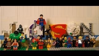 """Mission Assembled"" Lego superhero stop motion movie"
