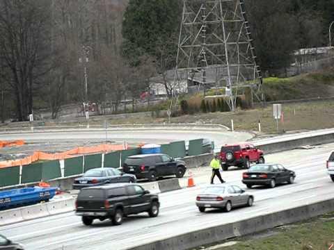 HOV lane Checks Gaglardi way