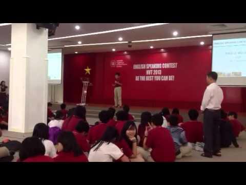 Bo's English Speaking Contest