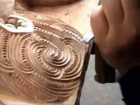 (wood carving) Maori (wood carving)