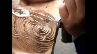(wood carving) Maori (wood carving)