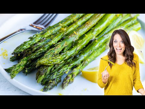 Lemon Garlic Roasted Asparagus (Ready in Under 20 Minutes!)