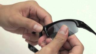Oakley Bottlecap Sunglasses Lenses Replacement(Installation/Removal)