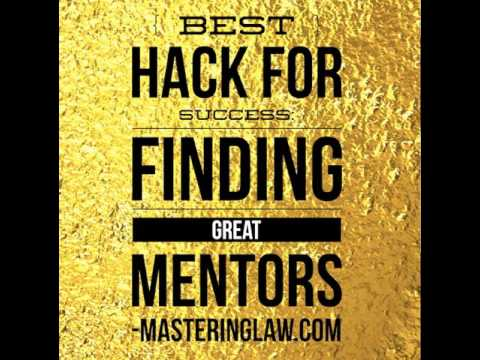 Best Hack for Success: Finding Great Mentors