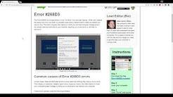 How To Remove Error #268D3 (Scam Virus)