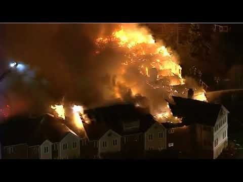 News 18-11-2017: Raw  Huge fire at Pennsylvania senior home