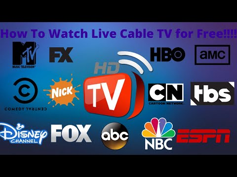 How To Watch Live Cable TV Online!!