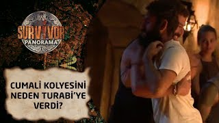 Survivor Panorama | 56. Bölüm | Cumali kolyesini neden Turabi'ye verdi?
