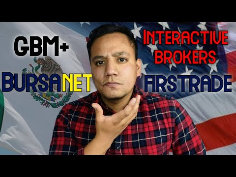 BROKERS NACIONALES VS AMERICANOS: GBM+ vs Bursanet vs Firstrade vs Interactive brokers