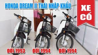 XE CỔ | HONDA DREAM II THÁI LAN ĐỜI 1993 - 1994 NHẬP KHẨU CHÍNH HÃNG