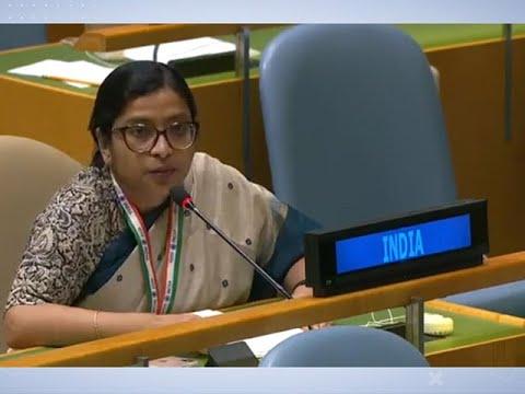 Download India responds to Imran Khan's speech & shames Pak at the UN