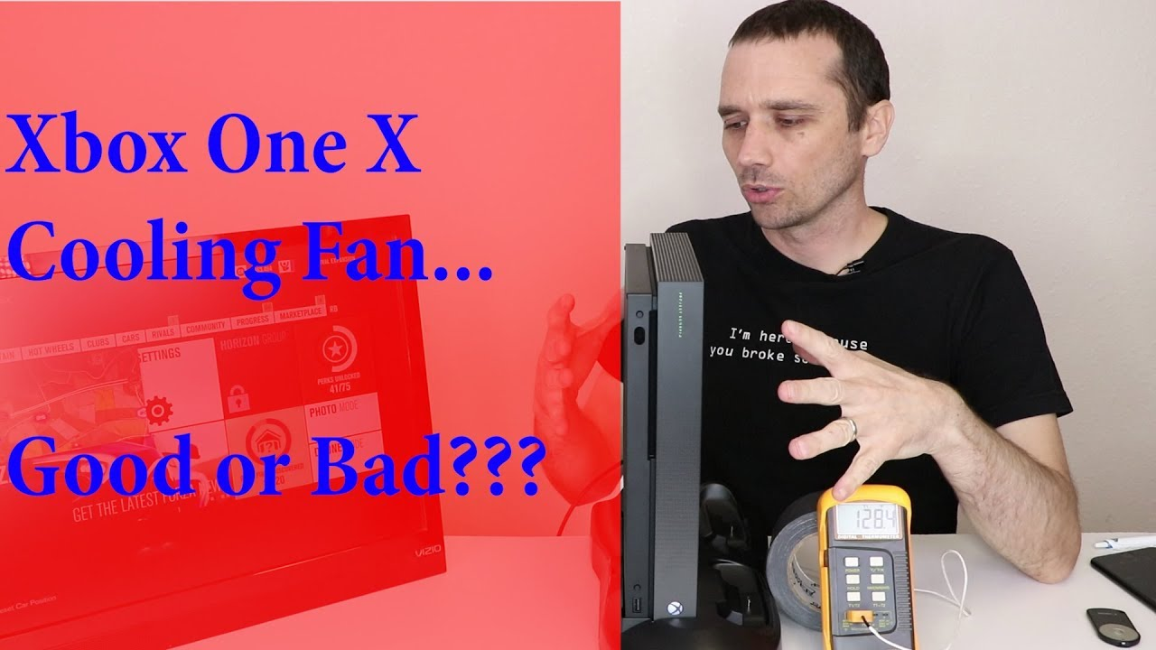 Xbox One X External Cooling Fan Test Does It Help Or Hurt Youtube Turbo Airflow Diagram Premium