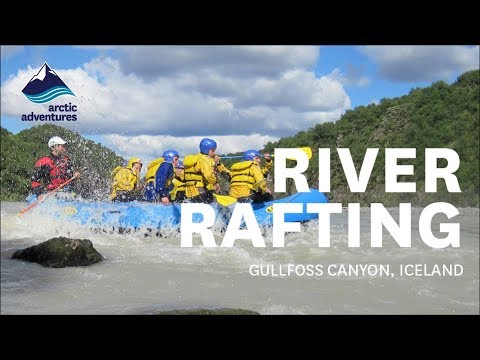 White Water River Rafting Tour through the Gullfoss Canyon |