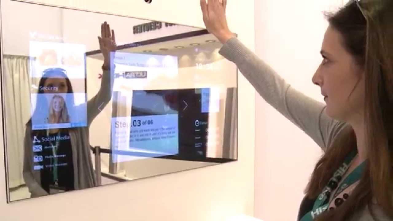 Spiegel mutiert zum Fernseher - IFA 2014 - YouTube