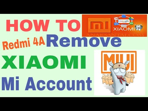 Bypass Micloud Verification Xiaomi Account Redmi Note 4 Mtk With